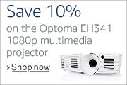 Save 10% on Optoma EH341