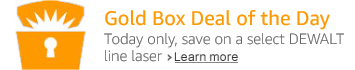 DEWALT Goldbox Deal of the Day