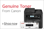 Genuine Toner From Canon
