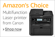 Amazon's Choice Multifunction Laser printer from Canon