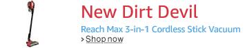 New Dirt Devil Reach Max
