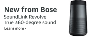 New from Bose - SoundLink Revolve