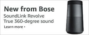 New from Bose - SoundLink Revolve