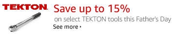 TEKTON Father's Day Sale