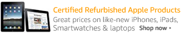 Certified Refurbished Apple Products