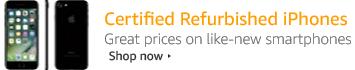 Certified Refurbished iPhones
