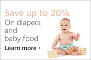 Save 20% on Diapers