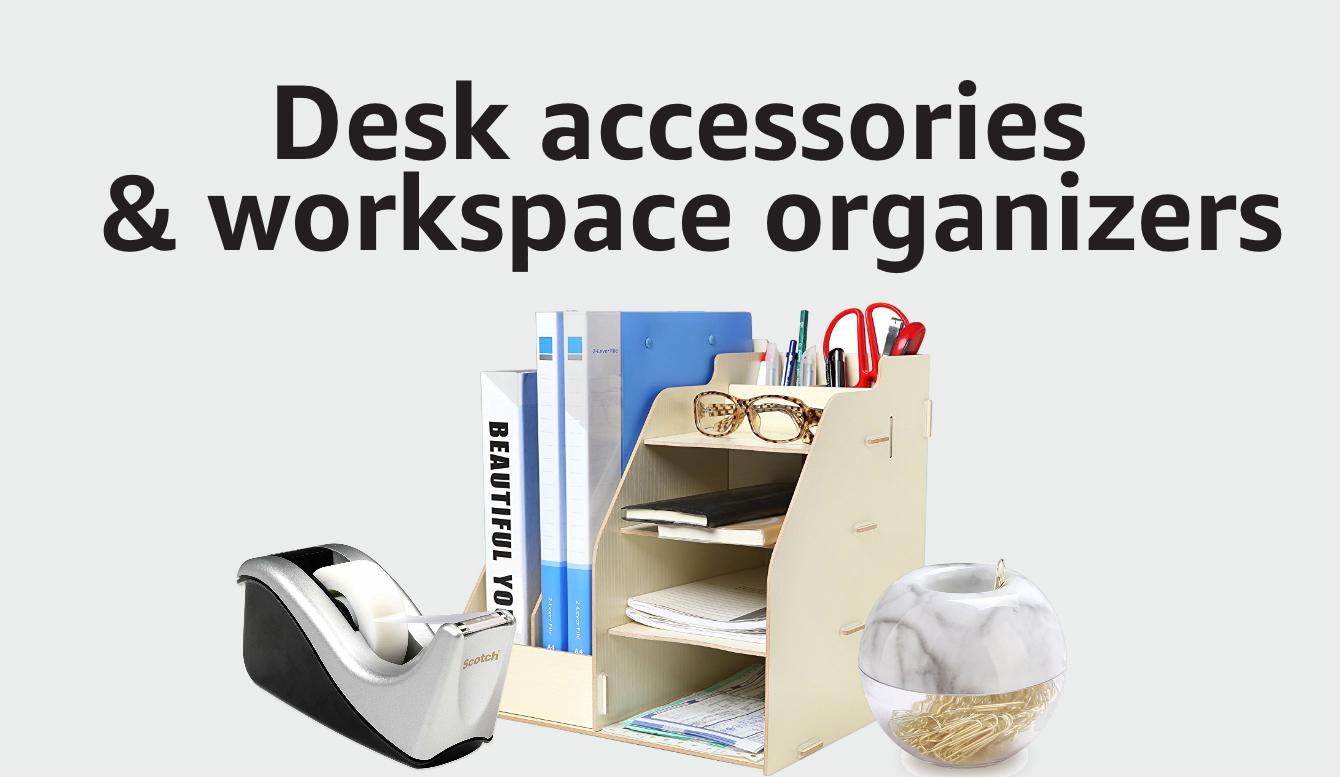 Desk Accessories & Workspace Organizers