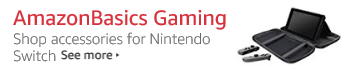 AmazonBasics Nintendo Switch