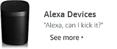 Devices with Alexa built-in