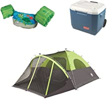 Up to 40% off camping and swimming gear