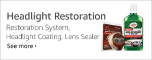 Shop Headlight Restoration