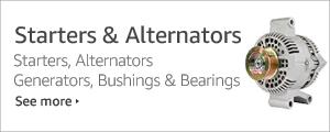 Shop Starters & Alternators