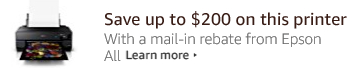 Epson Mail-in rebate