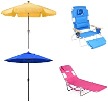 Save on Umbrellas and Lounge Chairs