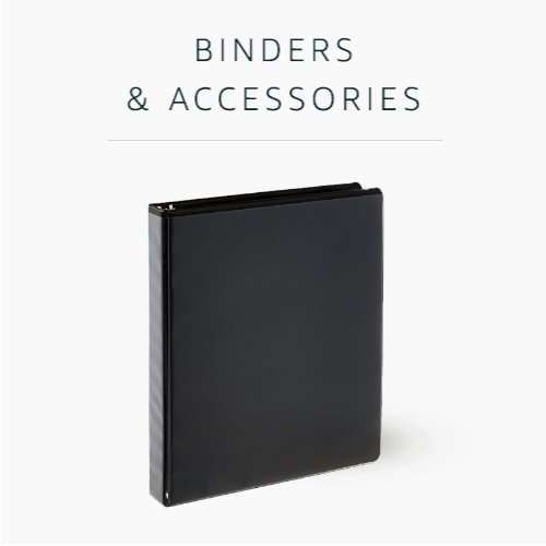 Binders and Accessories
