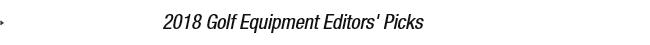 2017 Golf Editors' Picks