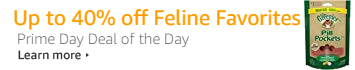 Save up to 40% on Feline Favorites