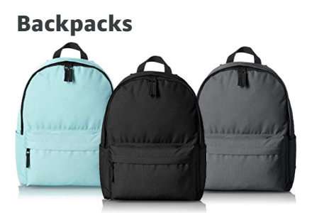 Amazon Warehouse Backpacks
