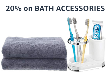Amazon Warehouse Bath Accessories