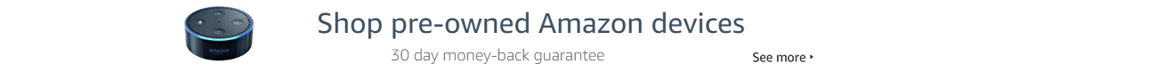 Shop pre-owned Amazon devices