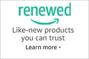 Amazon Renewed. Like-new products you can trust.