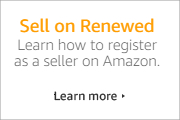 Sell on Amazon Renewed. Learn more here.