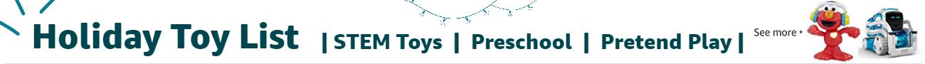Holiday Toy List: STEM Toys, Preschool, Pretend Play