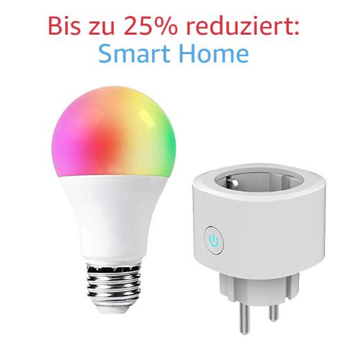 Bis zu 25% reduziert: Smart Home