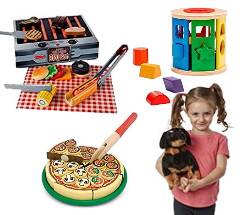 Save on Melissa & Doug Wooden Pizza and many more