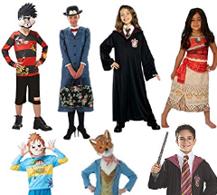UP to 25% off Rubie's Book Week Costumes