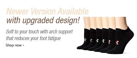 608fd65b138 Amazon.com  Under Armour Women s Essential Twist 2.0 No Show Socks ...