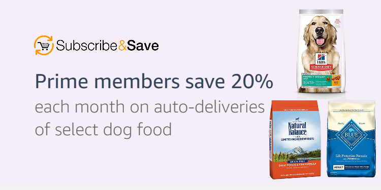 Prime members save 20% on auto-deliveries