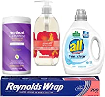 Save up to 40% on household essentials