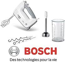Bosch: Batteur MFQ36470 450 W, Blanc/gris