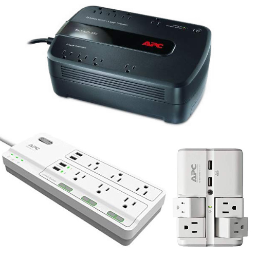 Save up to 40% on APC UPS and Surge Protectors