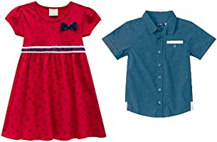 Moda para meninas e meninos até 45% off (seleção de Milon e Carinhoso)