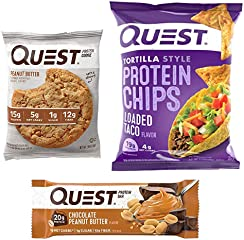For a limited time, save up to 30% on Quest protein favorites.