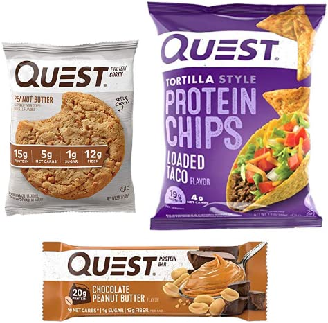 Save up to 30% on Quest protein favorites