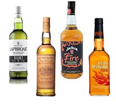 Whisky Jim Beam Fire 1L