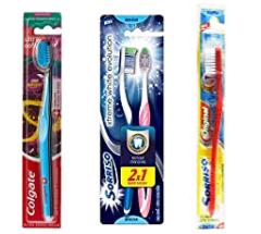 Escova Dental Sorriso Tripla 1 2 3 1unid