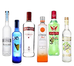 Vodka Vorus Tradicional, 750ml