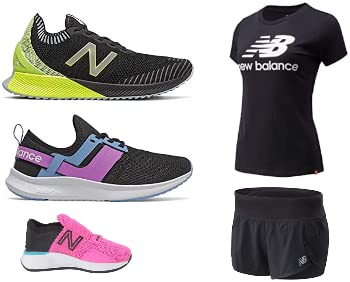 Save up to 30% on New Balance shoes and apparel