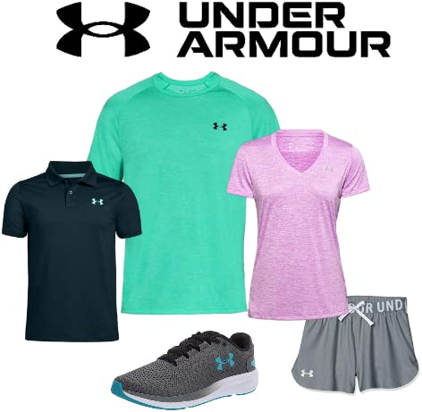 Save big on Under Armour apparel, accessories, and footwear