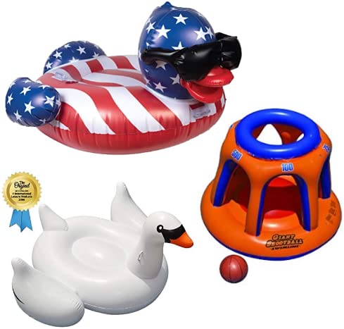 Save 20% on Pool Floats from Swimline & GAME