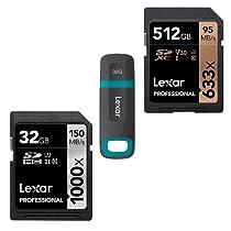 Hadi 40% punguzo la Lexar USB na Kadi za SD