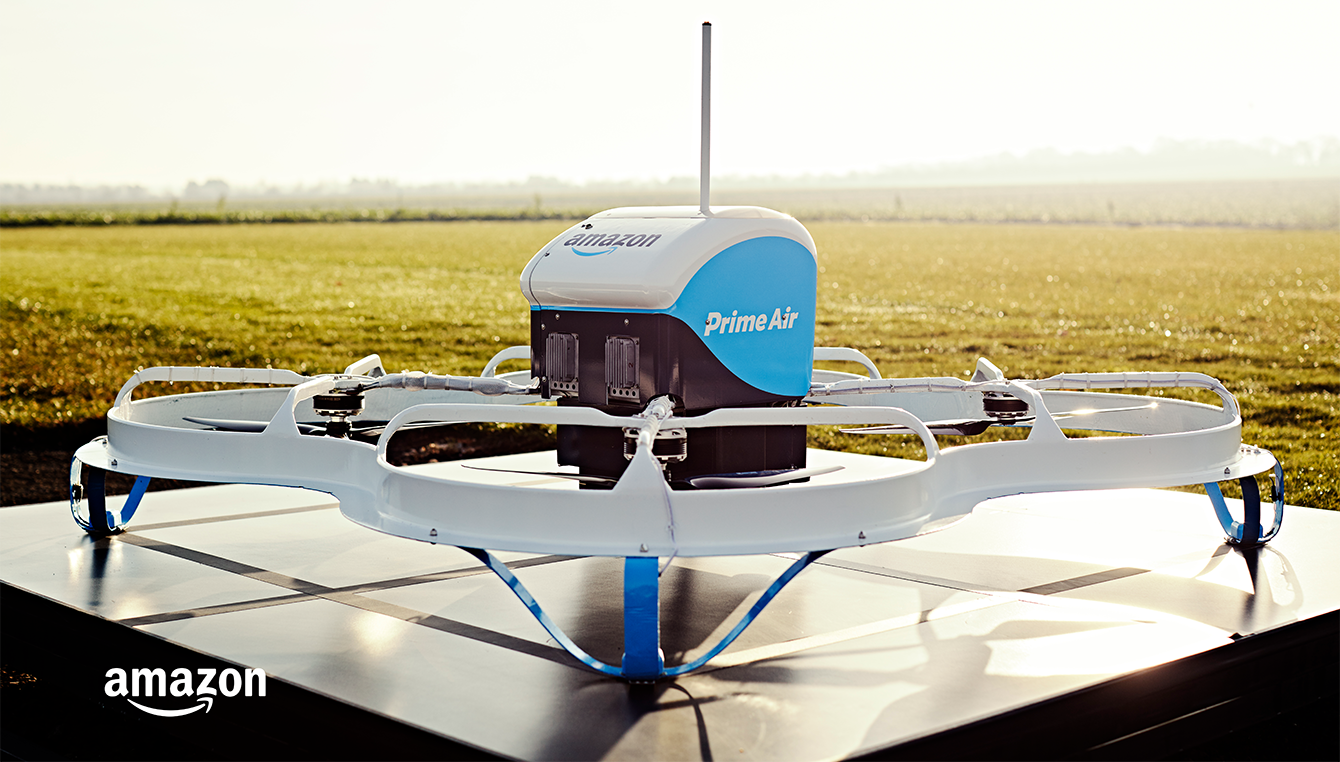Prime Air Drone Grounded