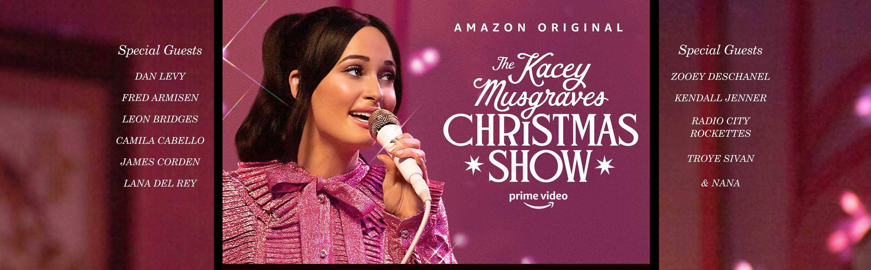 The Kacey Musgraves Christmas Show, a New Special coming to Amazon Prime Video on November 29, 2019