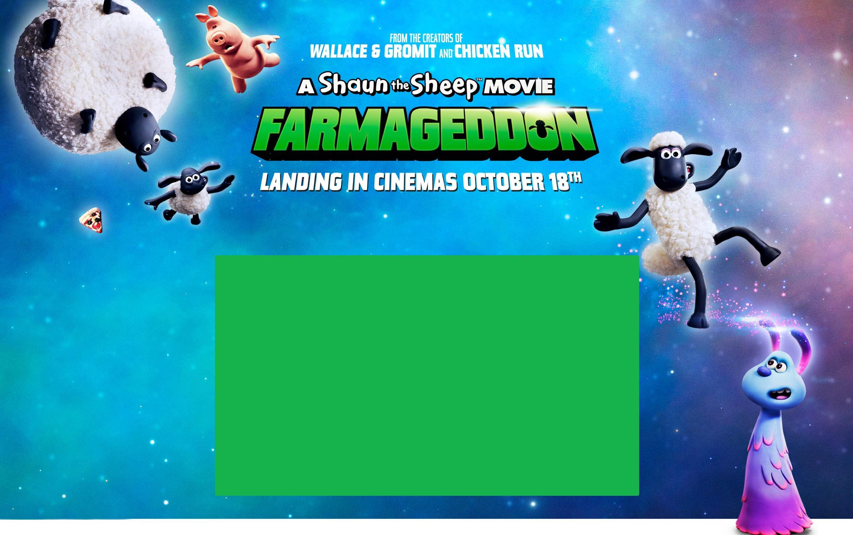 A Shaun the Sheep movie: Farmageddon. Landing in cinemas October 18th. Book tickets
