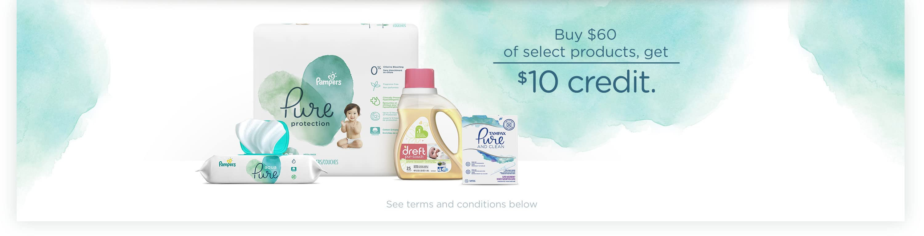 Buy $60 of Select Naturals Products, & Get a $10 Credit